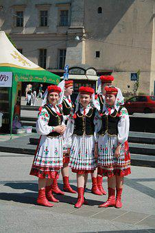 Kids, Childhood, Folk Costume, Ukrainian Folklore