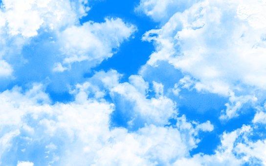 Day, Clouds, Sky, Sunbeam, Nature, Rays