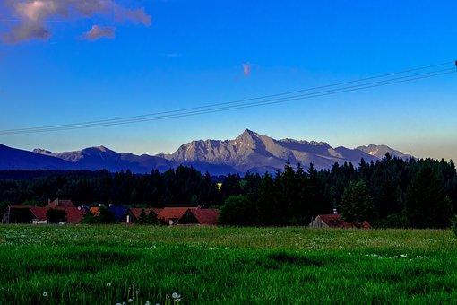 Mountain, Krivan, Nature, Sky, Clouds, Cloud, Heaven