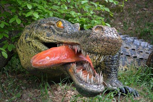 Dinosaur, Dino, Carnivorous Dinosaurs, Dino-park, Wedde