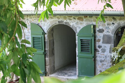 Martinique, House, Colonial, Caribbean, Window, Door