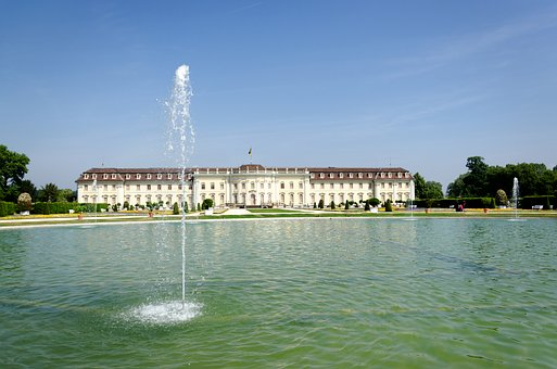 Castle, Ludwigsburg Germany, Baroque, Park, Garden