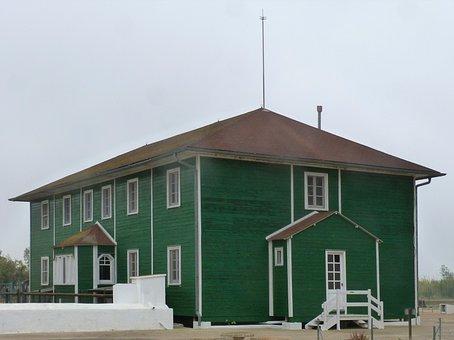 House, Wooden House, Green House, Ebro Delta