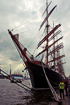 Sailing Vessel, Hamburg, Hafengeburtstag, Museum Ship