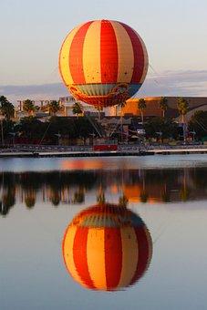 Hot Air Ballon, Morning, Air, Ballooning