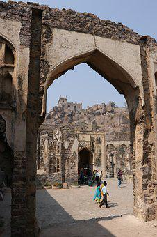 Golconda Fort, Architecture, Hyderabad, India