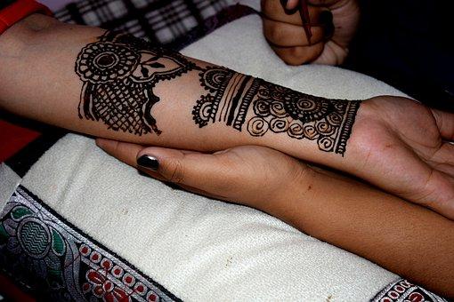 Henna, Culture, Indian, Tattoo, Ethnic, Mehndi, Design