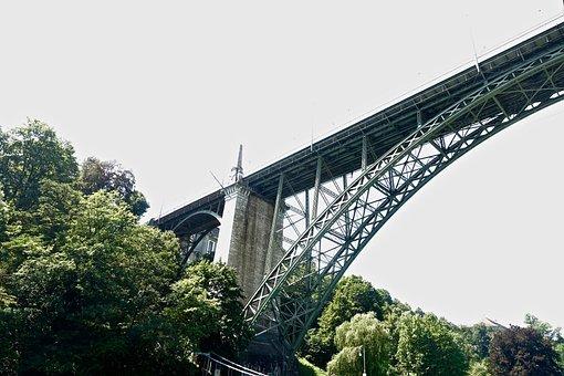Bridge, Iron, Design, Strength, Flyover, Rigid