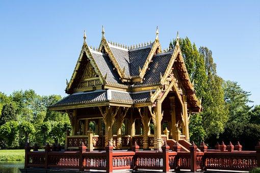 Pavilion, Buddist Of The Pavilion, Architecture