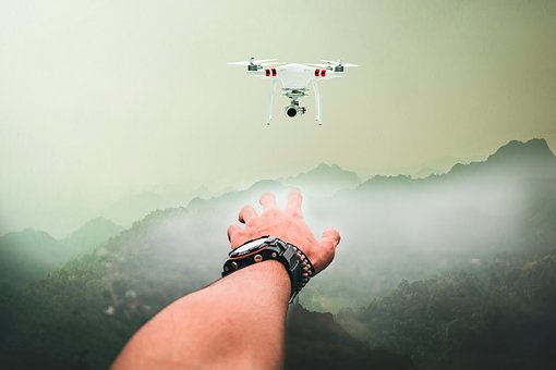 Drone, Hand, Willy, Mountains, People, Desktop, Nature