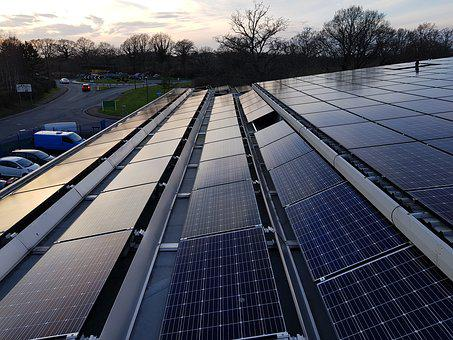 Commercial, Solar, Pv, Energy, Panel, Electricity