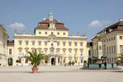 Castle, Ludwigsburg Germany, Baroque, Residenzschloss
