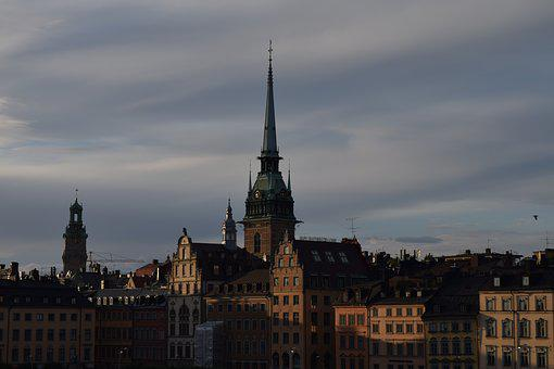 Stockholm, Sweden, City, Cityscape, Old, Scandinavia