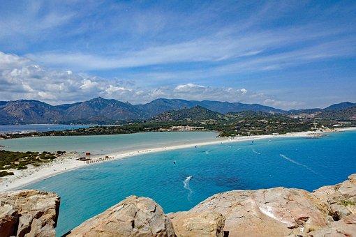 Beach, Sardinia, South East Arts, Villasimius