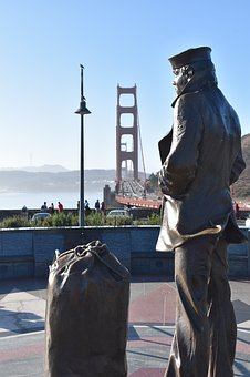 San Francisco, Golden Gate Bridge, Usa, California