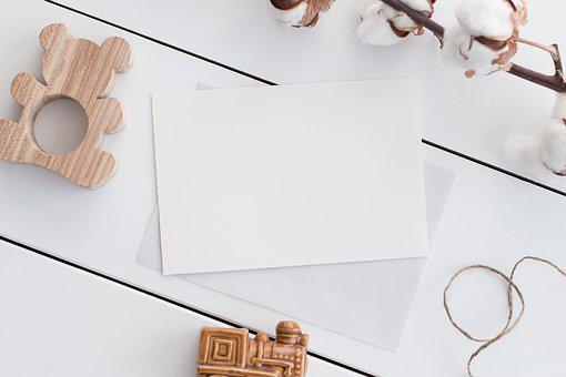 Background, Flatlay, Template, Paper, Frame, Wood, Toy