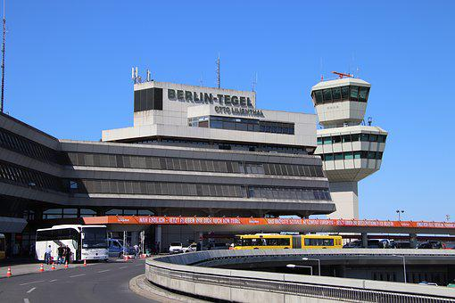 Airport, Berlin, Tegel, Otto, Lilienthal, Tower