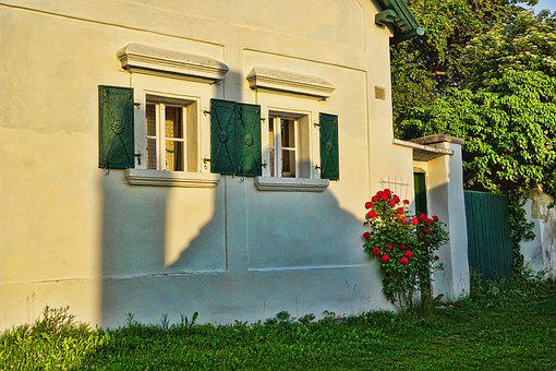 Architecture, Home, Old Farmhouse, Window, Old Window