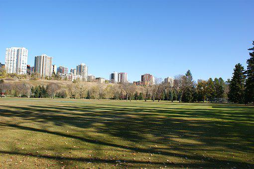 Edmonton, City, Downtown, Urban, Architecture
