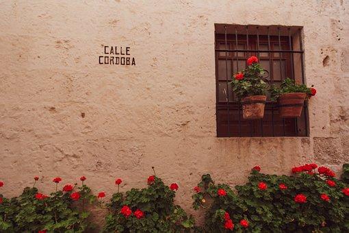 Santa çatalina, Monastery, Arequipa, Peru, Window