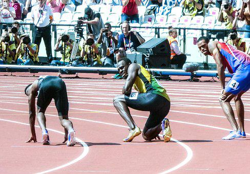 Usain Bolt, Sprint, Race, Bolt, Games, Athlete
