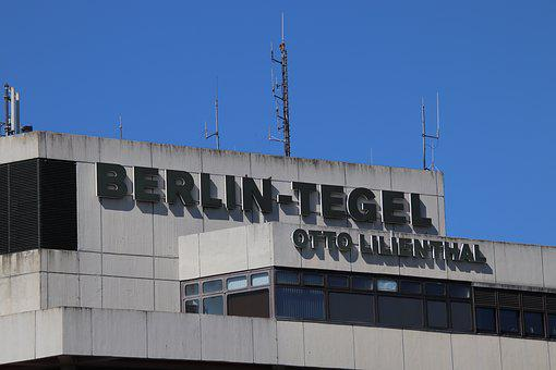 Airport, Berlin, Tegel, Otto, Lilienthal
