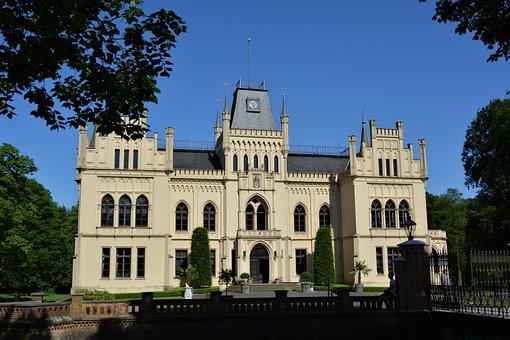 Leer, Empty, East Frisia, Old, Facade, Castle, Building