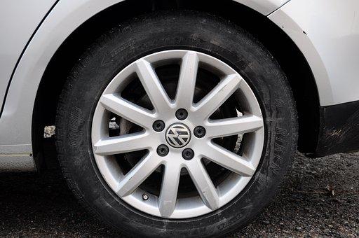 Car Tire, Rubber, Vehicle, Car, Official Tire
