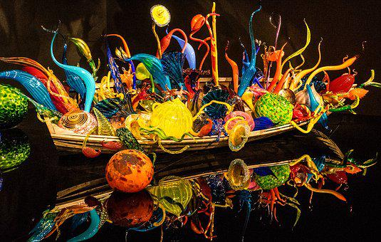 Chihuly, Glass, Tourism, Colorful, Creative, Vivid
