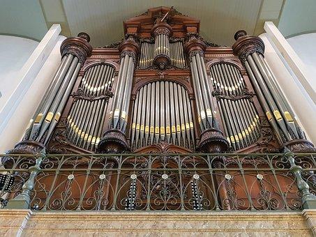 Organ, Breda, Netherlands, Church, Architecture