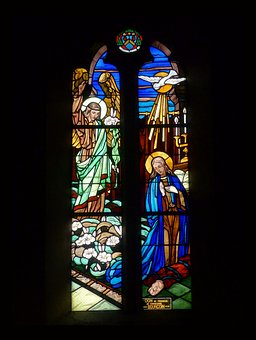 Stained Glass, Religion, Church, Window, Sacred