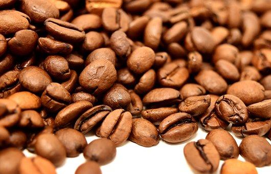 Coffee Beans, Caffeine, Coffee, Roasted, Aroma, Brown