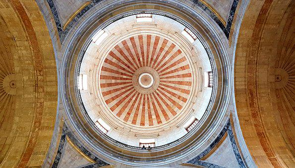 Dome, Cathedral, Architecture, Dome Building, District