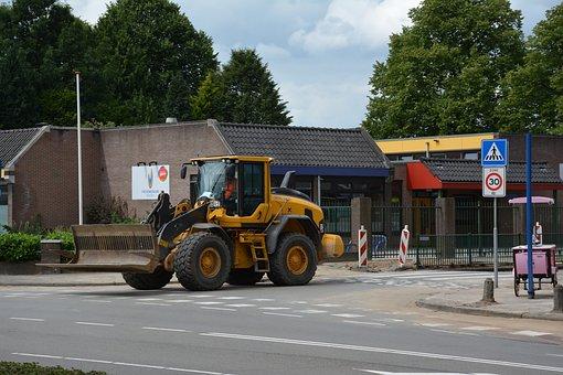 Shovel, Excavators, Kerkewijk, Veenendaal