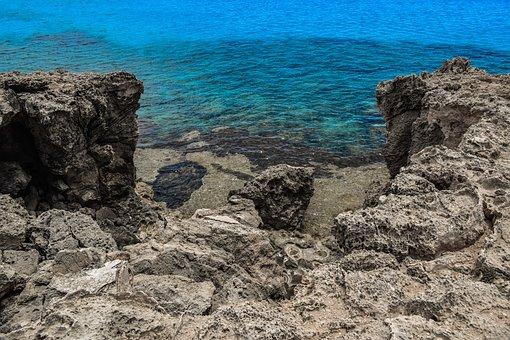 Cliff, Rock, Rocky Coast, Sea, Shore, Landscape, Island