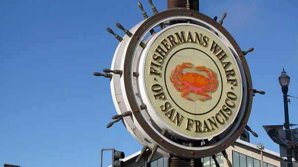 San Francisco, Fisherman Wharf, Pier, Landmark