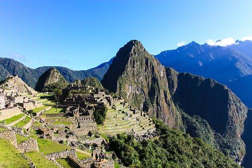 Machu Picchu, Inca, Ruins, Peru, Landscape