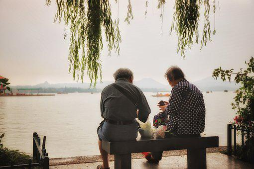 Love, Lake, Couple, People, Nature, Family, Water, Man