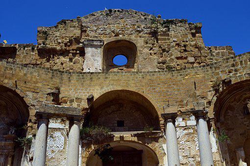 Ruin, Church, Old, Lapsed, Lost Places, Mediterranean
