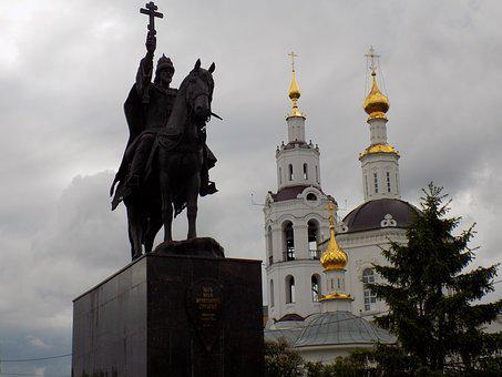 King, Ivan The Terrible, Church, Monument, Dome