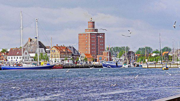 Eckernförde, Port, Old Store, Landmark, Baltic Sea