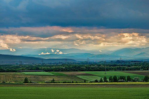 Panorama, Landscape, Nature, Sky, Outlook, Dramatic