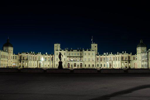 Architecture, Gatchina, Palace, Castle