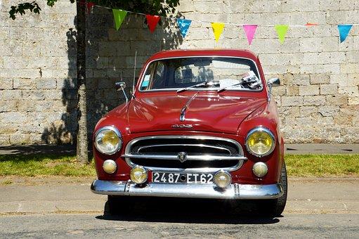 Peugeot, Peugeot 403, Vintage, Retro, Collection, Car
