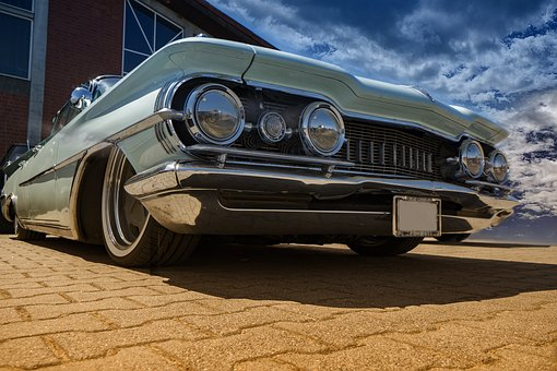 Auto, Car, Vintage, Classic, Cadillac, Retro, Vehicle