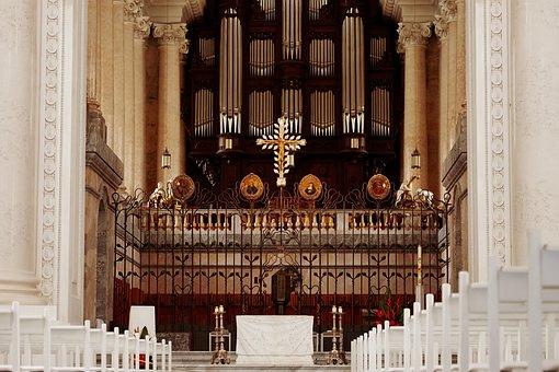 Church, Dom, Saint Blaise, House Of Worship, Altar