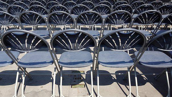 Chairs, Stage, Stadium, Chair, Sit, Occur, Seats