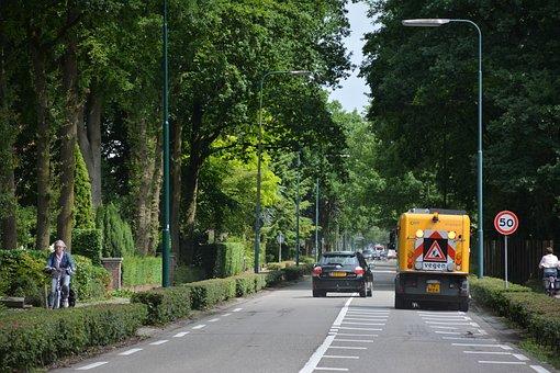 Kerkewijk, Street, Avenue, Veenendaal, Sweep, Sewage