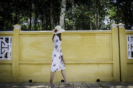 Girl, Wall, Summer, Nice, Young, Travel, Beautiful Girl