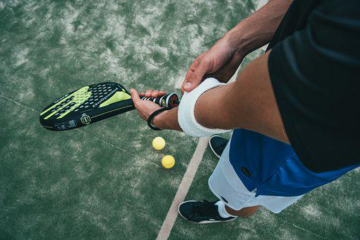 Tennis, Man, Background, Young, Summer, Model, Male